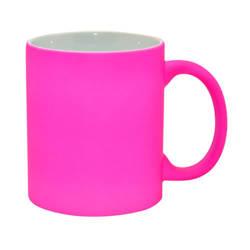 Mug fluorescent - pink, matte Sublimation Thermal Transfer