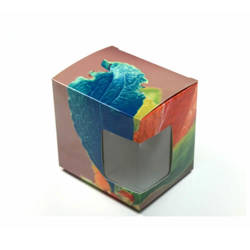Box for Mug with Window 330 ml Sublimation Thermal Transfer