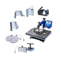 COMBO heat press 8-in-1 Thermal Transfer Sublimation