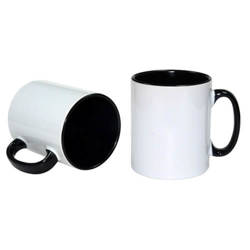 Funny Mug A+ 300 ml Black Sublimation Thermal Transfer