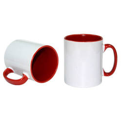 Funny Mug A+ 300 ml Red Sublimation Thermal Transfer