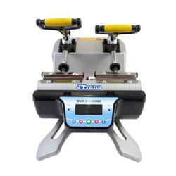 Horizontal double mug heat press - model JTSB-­S­-2 Sublimation Thermal Transfer