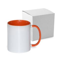 Mug ECO 330 ml FUNNY orange with box Sublimation Thermal Transfer