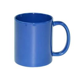 Mug Full Color - blue, shiny Sublimation Thermal Transfer