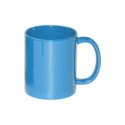 Mug Full Color - light blue, shiny Sublimation Thermal Transfer