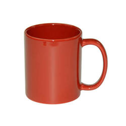 Mug Full Color - red, shiny Sublimation Thermal Transfer