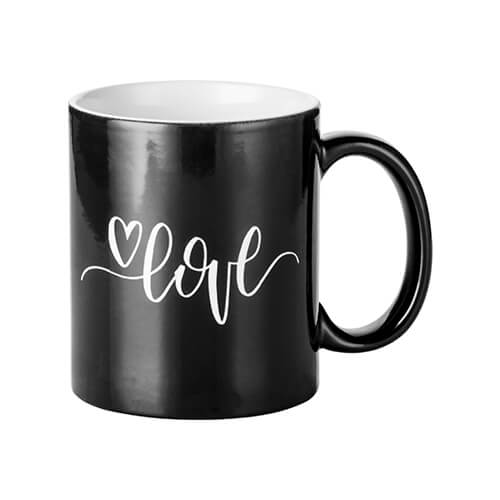 Magic cup with LOVE engraver