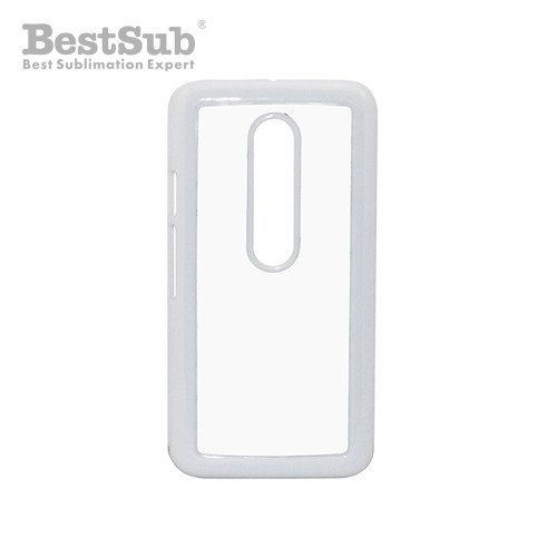 Motorola Moto G3 case plastic white Sublimation Thermal Transfer
