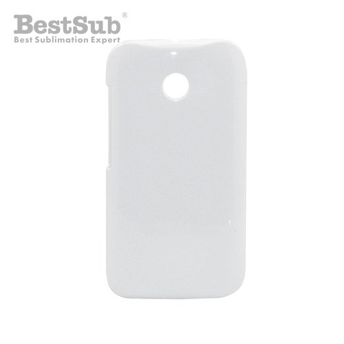Motorola Moto E 3D case white glossy Sublimation Thermal Transfer