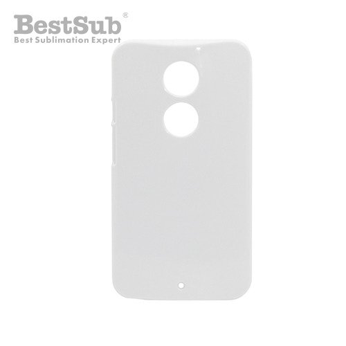 Motorola Moto X2 3D case white glossy Sublimation Thermal Transfer