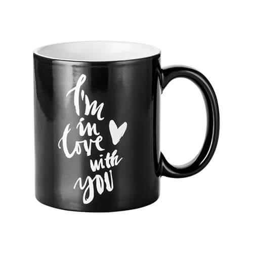 Magic cup with I'M IN LOVE WITH YOU engraver