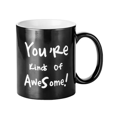 Magic cup with YOU'RE KIND OF AWESOME! engraver