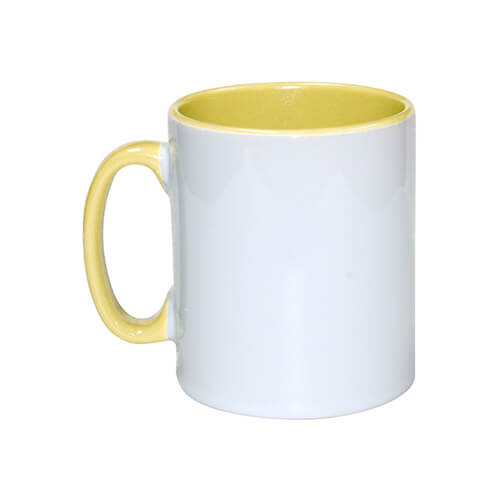 Mug 300 ml Funny yellow Sublimation Thermal Transfer