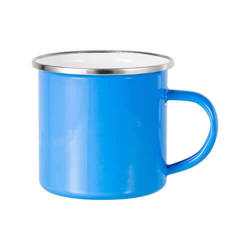 360 ml metal cup for  sublimation printing - light blue