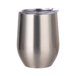 360 ml mulled wine mug for sublimation printing - silver