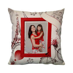 38 x 38 cm linen cover for sublimation printing - Paris