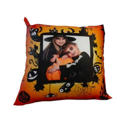 38 x 38 cm satin cover for sublimation printing - Helloween