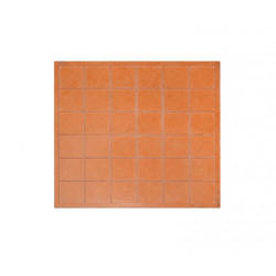 An attachment  for glass mosaic 36 pieces Sublimation Thermal Transfer