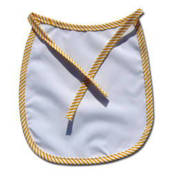 Baby bib Premium yellow strips Sublimation Thermal Transfer