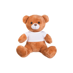 Big teddy bear with T-shirt Sublimation Thermal Transfer