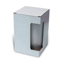 Box for big Latte mug with window Sublimation Thermal Transfer