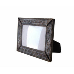 Brass metal frame 19 x 14 cm Sublimation Thermal Transfer