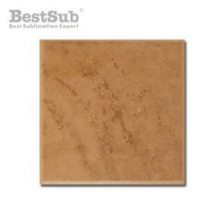 Brown matte ceramic tile 10 x 10 cm Sublimation Thermal Transfer