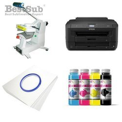 Cap printing kit Epson WF-7210DTW + SM02 Sublimation Thermal Transfer