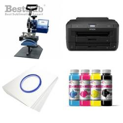Cap printing kit Epson WF-7210DTW + SM03 Sublimation Thermal Transfer