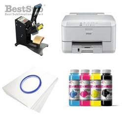Cap printing kit Epson WF3010DW + JTSM05 Sublimation Thermal Transfer