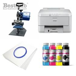 Cap printing kit Epson WF3010DW + SM03 Sublimation Thermal Transfer