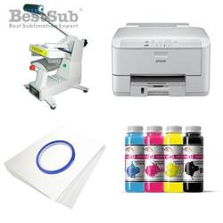 Cap printing kit Epson WP-4095DN + SM02 Sublimation Thermal Transfer