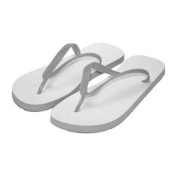 Children's  Photo Flip-Flops size L grey Sublimation Thermal Transfer