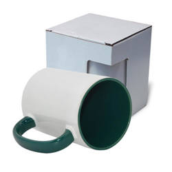 FUNNY mug MAX A+ 450 ml dark green with box KAR5 Sublimation Thermal Transfer