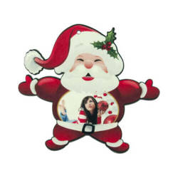 Felt Santa Claus shape decoration Sublimation Thermal Transfer