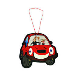 Felt car shape decoration Sublimation Thermal Transfer