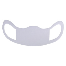 Foam face mask for sublimation