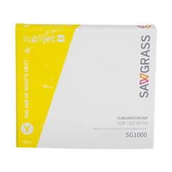 Gel ink YELLOW Sawgrass SubliJet­-UHD for Virtuoso SG1000