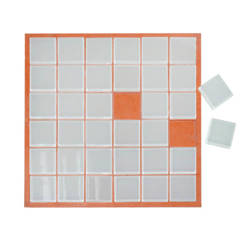Glass mosaic 30 x 30 cm - 36 Elements Sublimation Thermal Transfer
