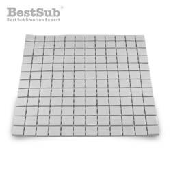Glossy ceramic mosaic 2,3 x 2,3 cm - 144 pieces Sublimation Thermal Transfer