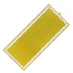 Gold Metal Bookmarks (set of 10) Sublimation Thermal Transfer