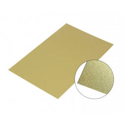 Gold glossy aluminium sheet 40 x 60 cm Sublimation Thermal Transfer