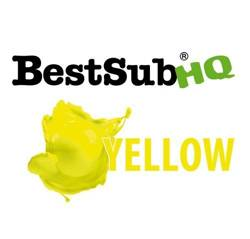 Ink for photo crystals Best Sub HQ  - Yellow 1000 ml