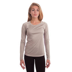 Ladies Solar Long Sleeve - Athletic Grey
