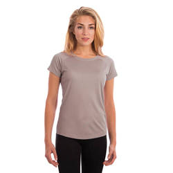 Ladies Solar Short Sleeve - Athletic Grey
