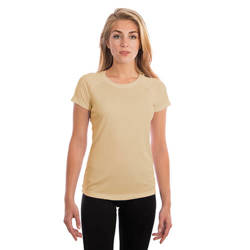 Ladies Solar Short Sleeve - Pale Yellow