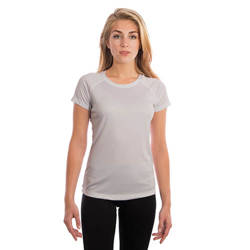 Ladies Solar Short Sleeve - Pearl Grey
