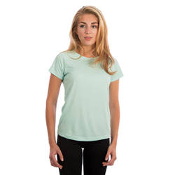 Ladies Solar Short Sleeve - Seagrass