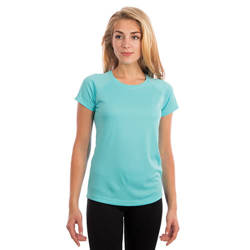 Ladies Solar Short Sleeve - Water Blue