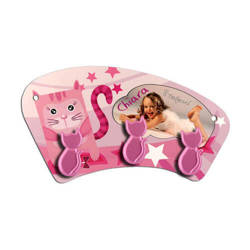 MDF hanger for sublimation printing – pink cats